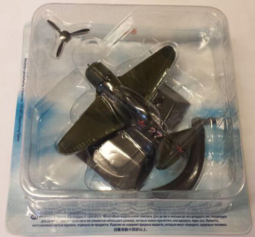 modello finito in metallo Lawotschkin la-5 mitica aerei De Agostini NUOVO