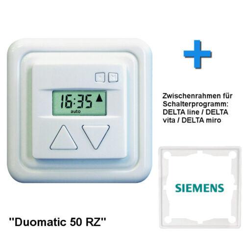 siemens entre cadre Minuterie Horloge Inprojal DUOMATIC 50 rz pour volet roulant