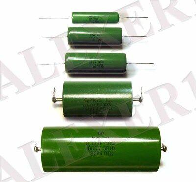 Condensateur Pio K75-10 500 V 0.22uF URSS lot de 5 pcs