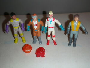 Vtg-1987-The-Real-Ghostbusters-Venkman-Stantz-More-Fright-Features-Figure-Lot