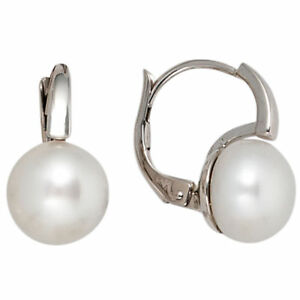 Earrings-Boutons-Freshwater-Pearls-Cultured-Pearls-White-585-White-Gold-Ladies