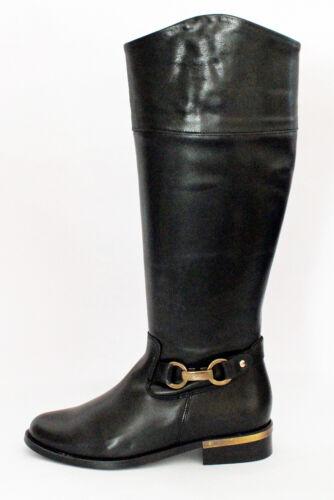 Bottes Boots Femmes Cavalieres Varitable  CUIR NOIR IN SHOES NEUVES