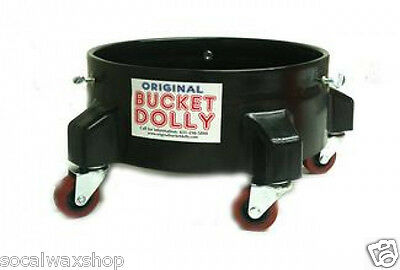 Original Bucket Dolly Black 5 Caster 5 Gallon Bucket Holds 350 Pounds OBD2003