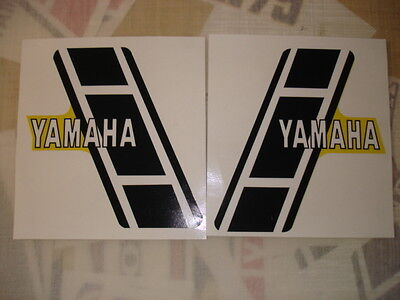 1982 YAMAHA YZ490 EURO MODEL COMPLETE DECAL KIT AHRMA