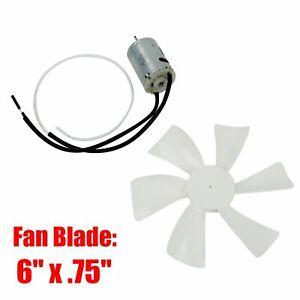 RV Vent Motor with Fan Blade 12 Volt Home Bathroom Mobile ...