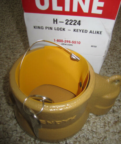 Keyed alike Uline King Pin Lock