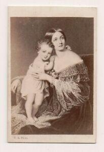 Vintage-CDV-Laura-Bell-Thistlethwayte-Famous-courtesan-amp-Son-RARE