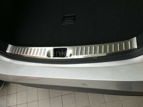 Steel Rear Bumper Protector Cover Trim for 2016-2017 Toyota Prius Protect Inner