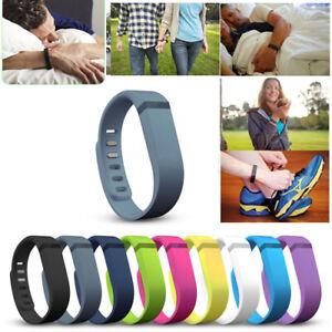 LARGE-L-Size-Replacement-Wrist-Band-w-Clasp-For-Fitbit-Flex-Bracelet-No-Tracker