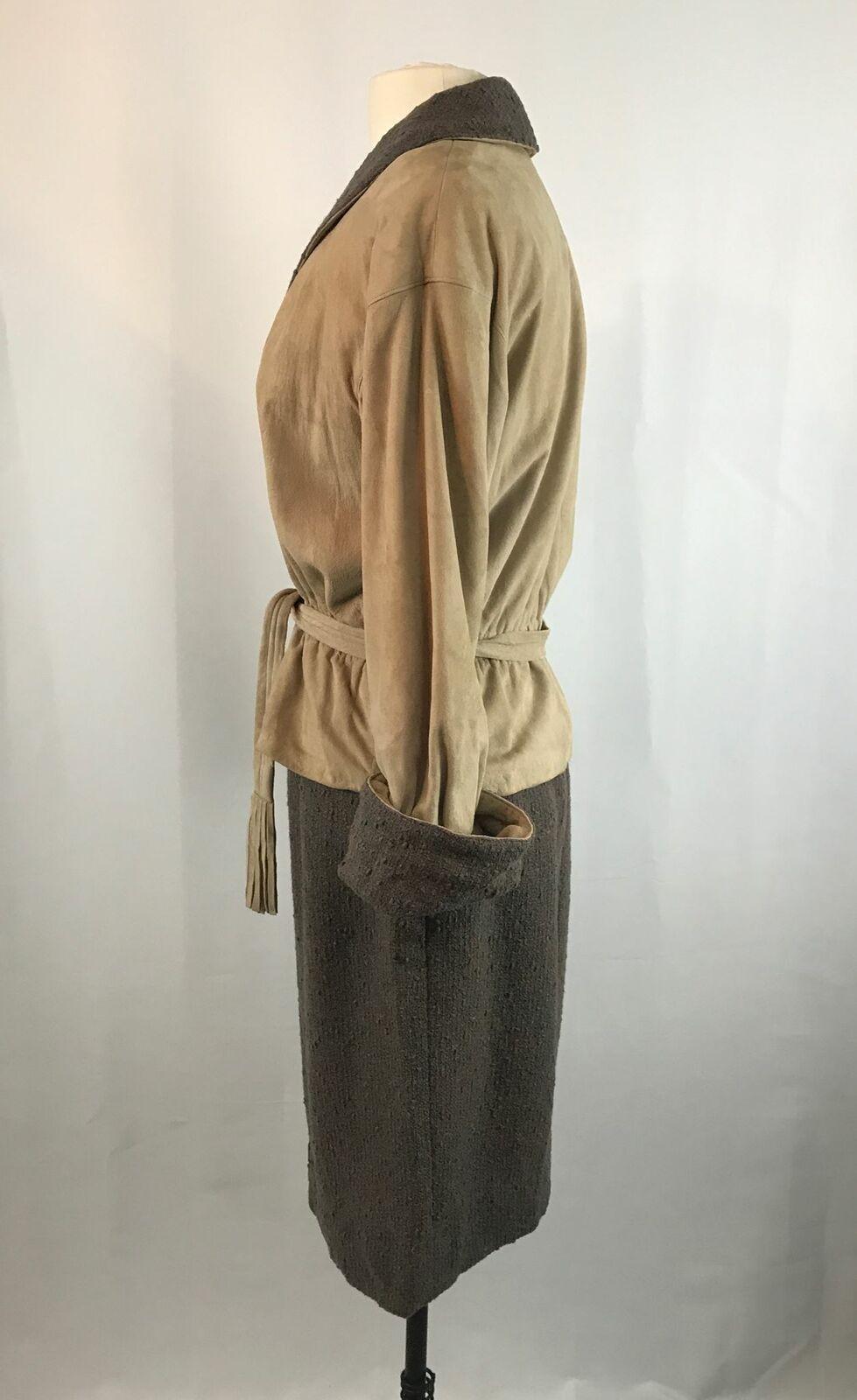 Vintage Bonnie Cashin Leather Jacket and Skirt Se… - image 3