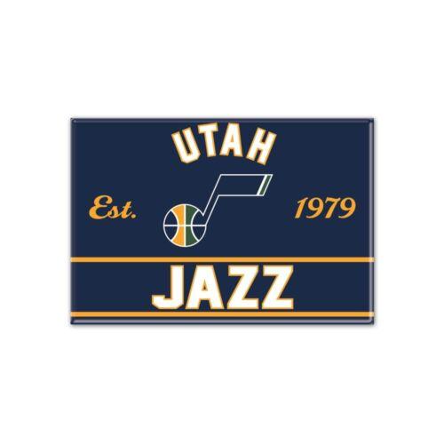 WinCraft NBA UTAH JAZZ Metall Magnet NEU//OVP