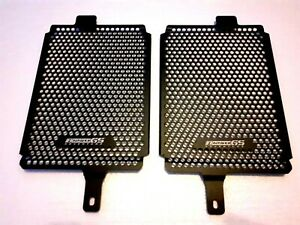 Radiator guards with BMW R1250GS ADVENTURE printed NEW SHAPE/SIZE UK Seller