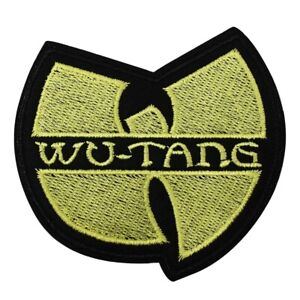 Wu-Tang-Clan-Hip-Hop-Group-Iron-On-Patch-Embroidered-Badge-New-York-Logo-Wutang