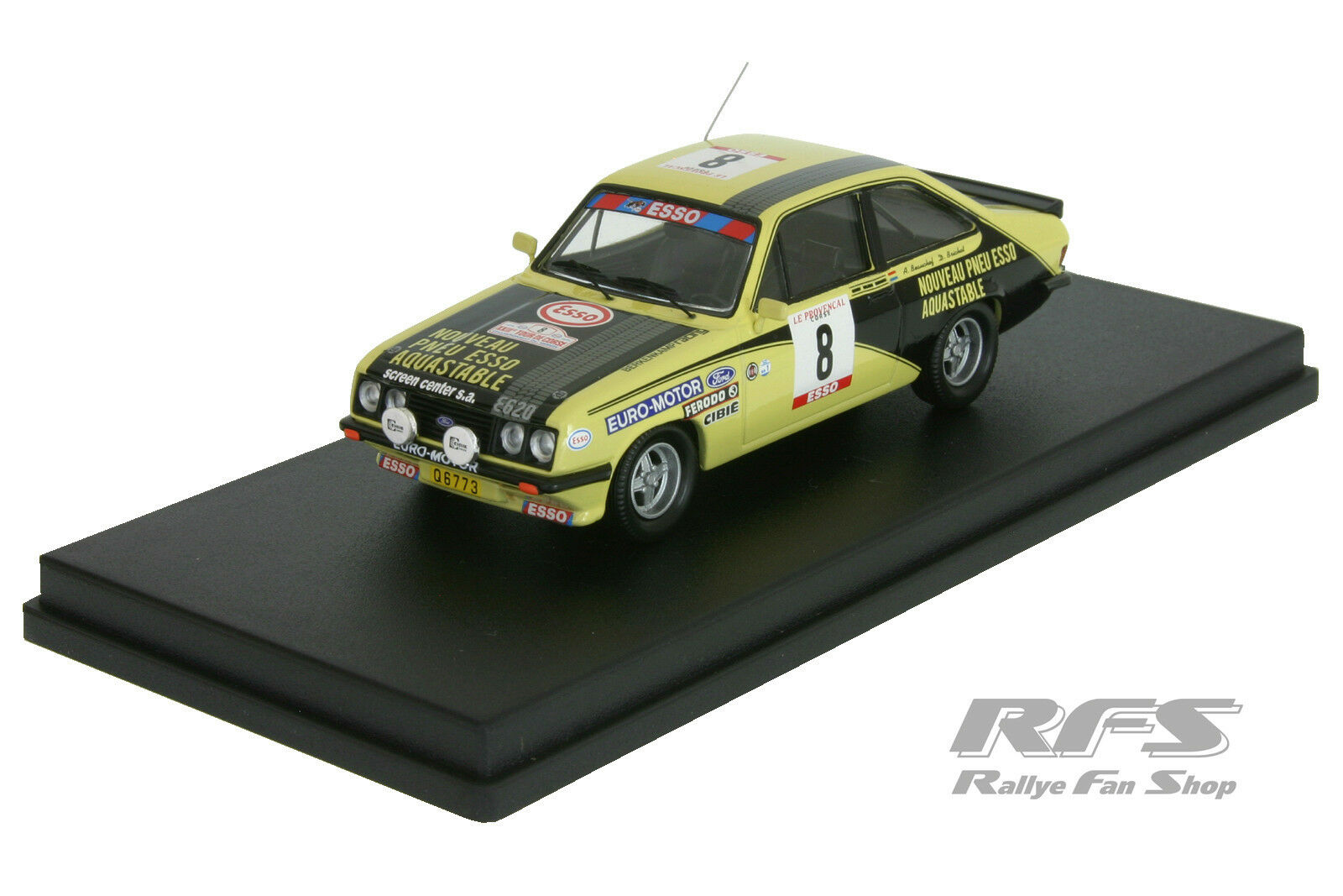 1 43 Ford escort rs 2000-beauchef Brichot-rallye tour de Corse 1979 trofeu