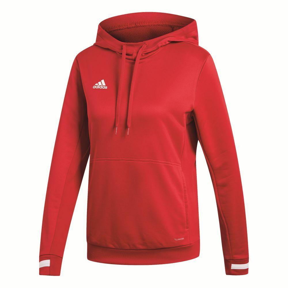 Adidas Fußball Team 19 Hoodie Hoodie Hoodie Kapuzenpullover Damen Frauen rot  | Trendy  f0bb24
