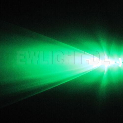 100 Leds 5mm Grün 16000mcd grüne LED PC Modding KFZ Auto Modellbau