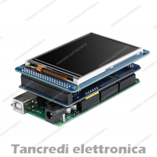 Display LCD TFT 3,2/' 3,2/'/' 240X320 a colori con touch screen Arduino mega 2560