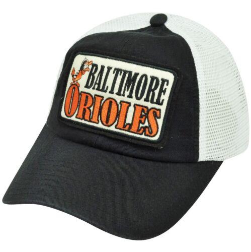 MLB American Needle Baltimore Orioles Zweifarbiges Baumwolle Netz Fanartikel