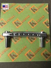 Chrome KLP-1131C Kluson USA Made Standard Stop Tailpiece Zinc