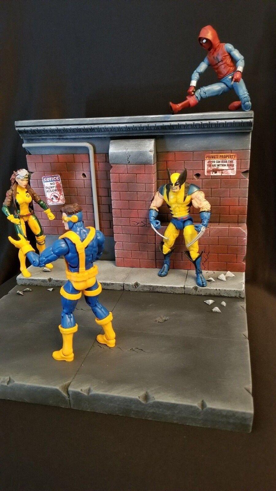 Herowerx Diorama Action Figure DC DC DC Batman Marvel Legend Select Street Scene 5308ea