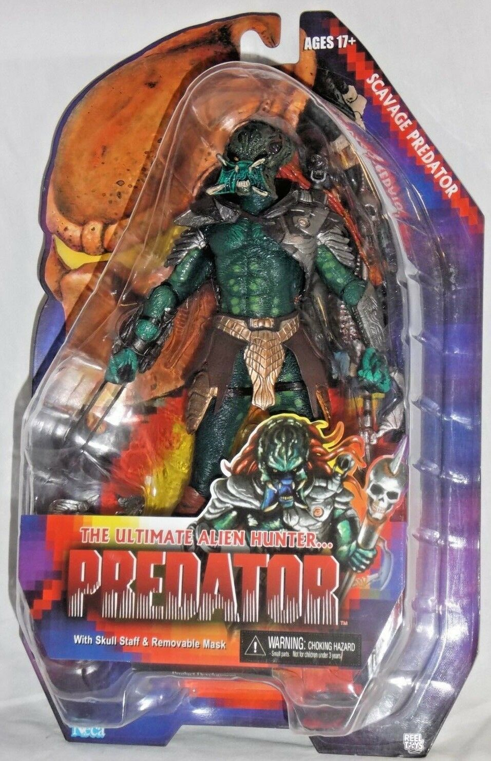 NECA ALIEN HUNTER ProssoATOR Series 13 SCAVAGE cult horror movie 7  action figure