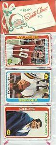 1978 Topps Football Holiday Christmas Rack Pack Tony Dorsett Rookie RC Poss. Q-4