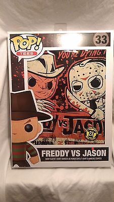 Funko Pop Tees Freddy Krueger Vs Jason Mens T-Shirt Hot Topic Exclusive Limited