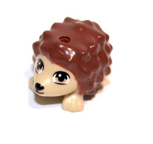 1x LEGO® Igel mit Gesicht 98389pb01 NEU Beige//Braun Scala Friends Castle City
