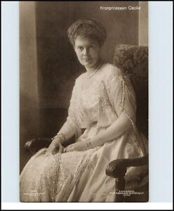 Adel-Monarchie-1915-Kronprinzessin-Prinzessin-Princess-CECILIE-Verlag-G-Liersch