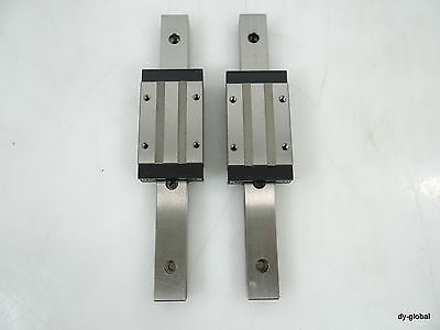 Hiwin NEW HGW30HC LM Guide linear bearing 30mm Flange tapped hole Runner block