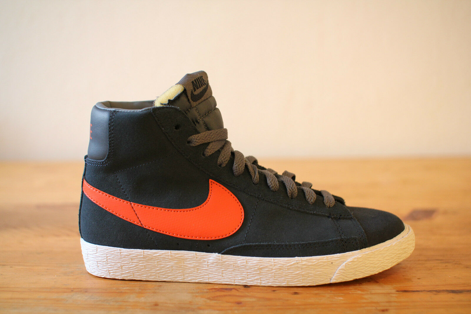 Nike Blazer Mid Vintage WMNS blue orange Gr. 38 UK 5 NEU & OVP