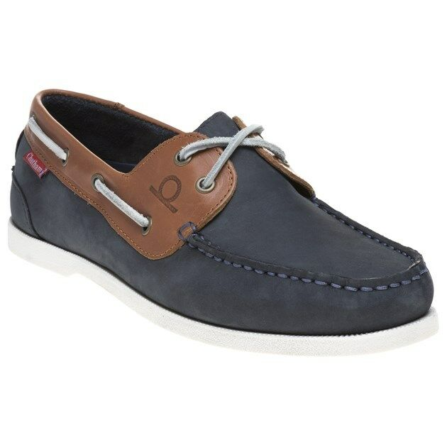 New Mens Shoes Chatham Marine Blue Galley Ii Nubuck Shoes Mens Boat Lace Up 89faae