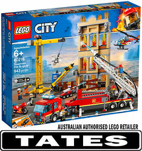 LEGO 60216 Downtown Fire Brigade CITY from Tates Toyworld