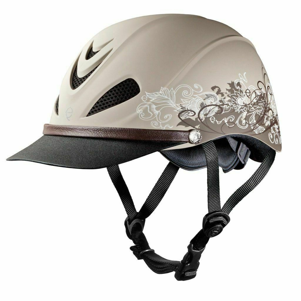 Troxel Dakota Horse Riding Helmet Extended Visor Lightweight Ventilation