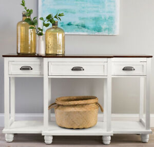 Kitchen-Buffet-Table-Wood-Console-Drawer-Storage-Dining-Room-Server-Storage-Whit
