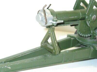 METAL non peint lot de 2 sabots pour le canon LONG TOM militaire BRITAINS
