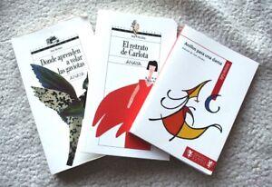 Libros Ana Alcolea Anillos Dama Donde Aprenden Volar Gaviotas Retrato Carlota Ebay