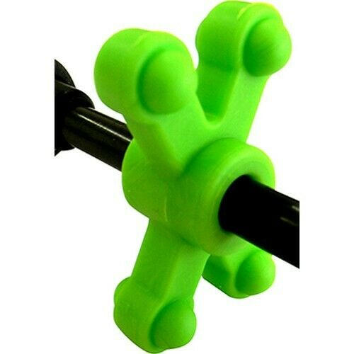 Bow Jax 1012fgreen Bowjax SlimJax Cable Rod Dampener Neon Green for sale online