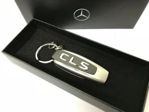 Schlüsselanhänger für Mercedes Klasse CLS C218 C219 Verchromung Metallische