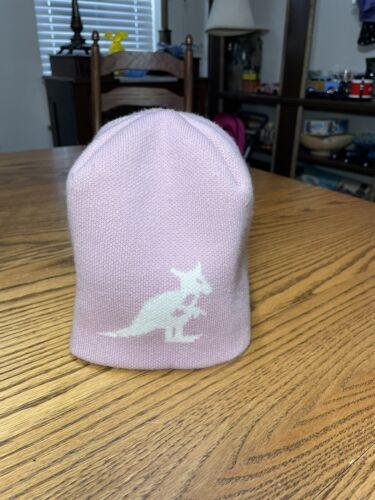 Vintage Kangol Pink Dusty Rose Beanie Skull Cap Re