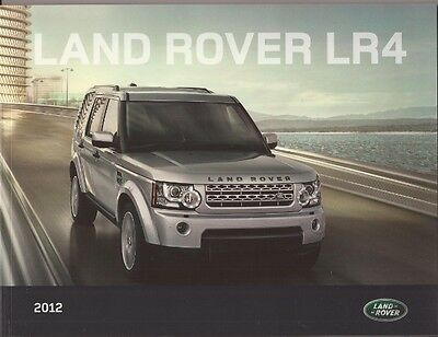 2012 12 Land Rover LR4 original brochure