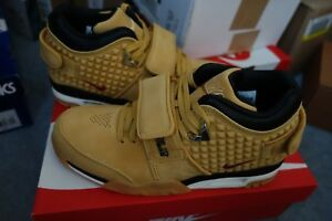 74654a790986ff Image is loading Nike-Air-Trainer-Victor-Cruz-Haystack-Wheat-Size-