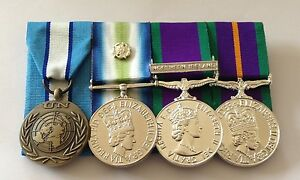 UN-Cyprus-Falklands-GSM-Northern-Ireland-ACSM-Full-Size-Court-Mounted-Medals