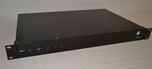 GE SECURITY B780GT-RST3 MM-RGB High Resolution Component Video Tx Rack 3-Fiber