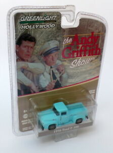 Greenlight-escala-1-64-Andy-Griffith-44770-E-Azul-1956-Ford-F-150-Camion