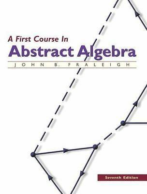 A First Course In Abstract Algebra 7E Global Edition 9780201763904 EBay