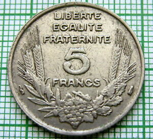 FRANCE-1933-5-FRANCS-ONE-YEAR-TYPE