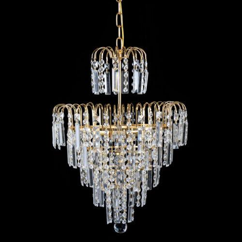 Elegant Crystal Pendant Decoration Ceiling Lamps Luxury Fixture Chandelier E12