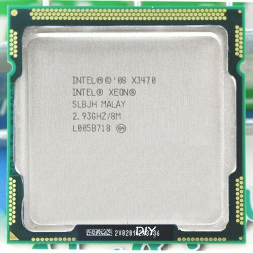 Intel Xeon X3470 2.93Ghz 8mb 2.5 GT/s Quad Core CPU SLBJH LGA1156