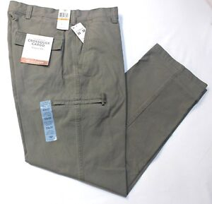 Dockers Crossover D3 Classic Frontier Brown Flat-Front Cargo Pants